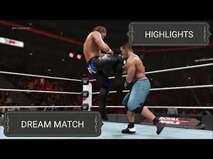 WWE 2K19 JOHN CENA VS KENNY OMEGA {DREAM MATCH} HIGHLIGHTS