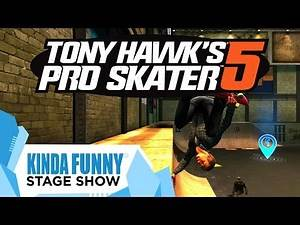 Tony Hawk Chats About Pro Skater 5 - Kinda Funny Stage Show E3 2015