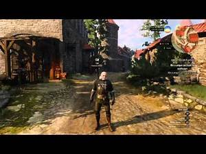 Full 'Enhanced' Griffin Armour and Swords - Witcher 3 PS4