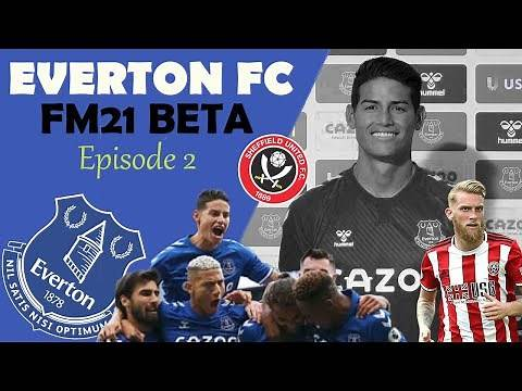 FOOTBALL MANAGER 2021 BETA / EVERTON FC / EP.2 / What did I just watch?