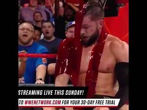 WWE Finn Balor Blood Match