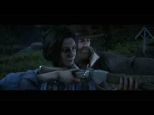 Red Dead Redemption 2 Arthur Gets a Kiss Charlotte The Widow