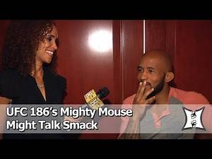 UFC 186's Demetrious Johnson Talks Horiguchi Fight, PPV Buys Smack Talk Game