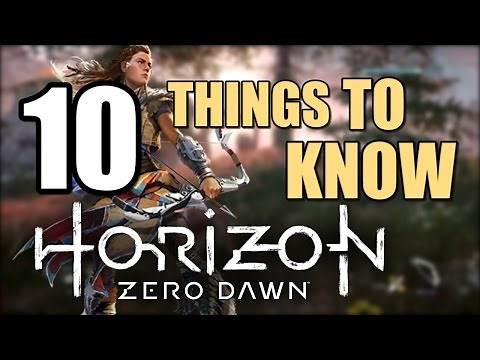 Horizon Zero Dawn Tips: 10 Things To Know Before Playing The Game