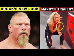 Brock Lesnar New Look & Mandy Rose Tragedy - 5 Shocking WWE Rumors