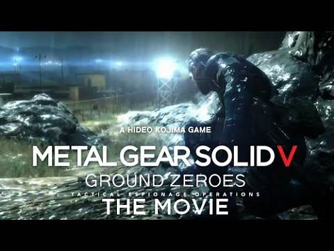 Metal Gear Solid V: Ground Zeroes THE MOVIE - Full Story