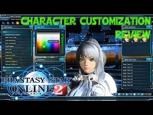 BEST CHARACTER CUSTOMIZATION EVER? || Phantasy Star Online 2 (Review)