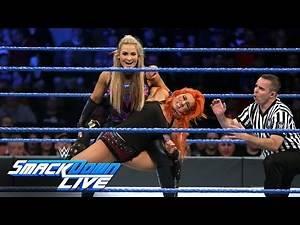 SmackDown Women's Champion Becky Lynch vs. Natalya: SmackDown LIVE, Nov. 22, 2016