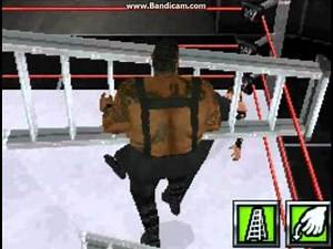 WWE Smackdown vs. Raw 2009 (DS) - Big Daddy V vs. Jeff Hardy (Ladder Match)
