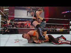WWE Champion John Cena vs. Edge vs. Chris Jericho