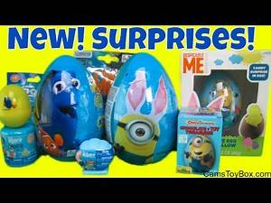 Easter Eggs Mashem Blind Bag Chocolate Finding Dory Despicable Me Minions Series 5 Surprise Toys Fun