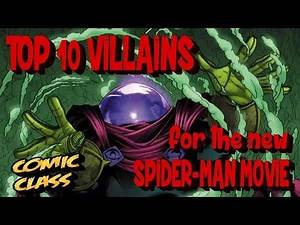 Top 10 Villains for the MCU Spider-Man - Comic Class