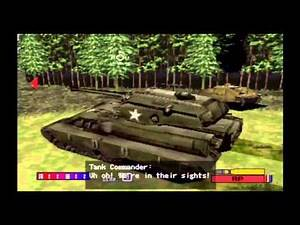 PANZER FRONT PS1 UPSCALED 720P