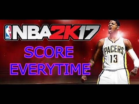 NBA 2K17 How To Score Almost Every Time Money Play