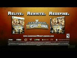 WWE Legends of Wrestlemania - Create a Legend Mode