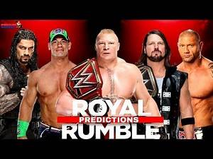 WWE ROYAL RUMBLE 2018 HIghlights, Results & Predictions!!! [Updated Matches]