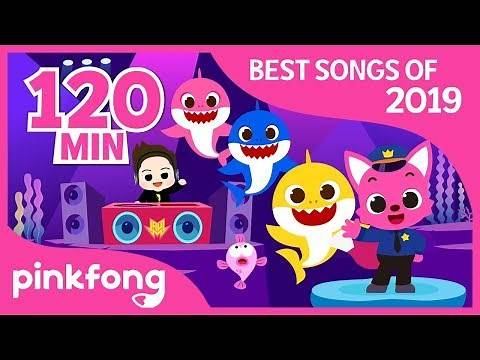 Baby Shark Dance and more | Best of 2019 | Compilation | Pinkfong! Songs for Children