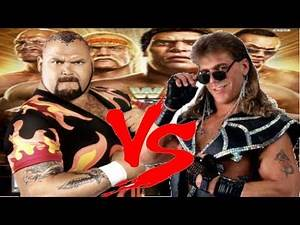 WWE Legends Of Wrestlemania Bam Bam Bigelow vs Shawn Michaels