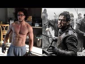 Kit Harington - Transformation Into A Warrior For Game Of Thrones & Pompeii
