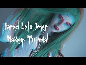 Jared Leto's Joker (Female Makeup Tutorial) 🃏 | JordeeKai ⭐