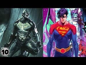 Top 10 Most Powerful Batman And Superman Heroes and Villains | Marathon