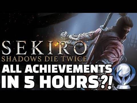 ALL ACHIEVEMENTS Sekiro Speedrun in 4:51:33 [WORLD RECORD]
