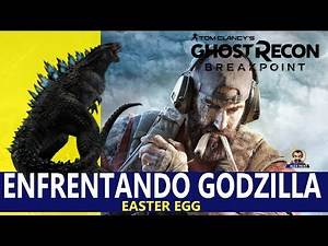 ENFRENTANDO GODZILLA - EASTER EGG - GHOST RECON BREAKPOINT