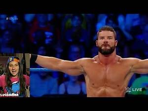 WWE Smackdown 8/22/17 Aiden English vs Bobby Roode DEBUT