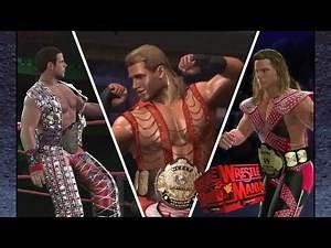 WrestleMania 14 Comparison - Shawn Michaels and 'Stone Cold' Steve Austin