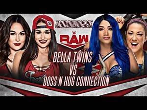 WWE 2K19 RAW THE BELLA TWINS VS BOSS N HUG CONNECTION