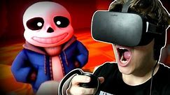 GENOCIDE SANS FIGHT... IN VIRTUAL REALITY!!   Undertale in VR (Undertale Virtual Reality)
