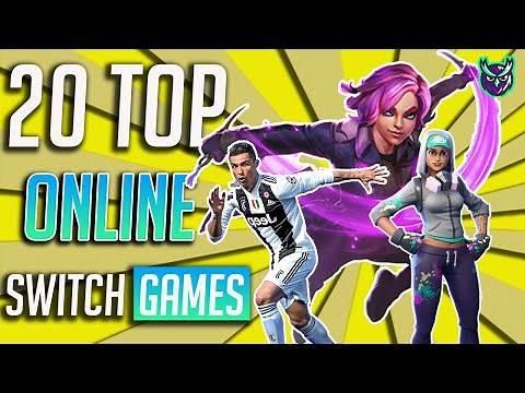 20 TOP Nintendo Switch Online Multiplayer games