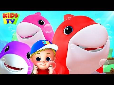 Laughing Shark | Baby Shark Song | Nursery Rhymes & Kids Songs | Junior Squad Cartoon