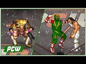BEST FIRE PRO MATCHES EVER! | PCW Holiday Mixup #2 (Fire Pro Wrestling World)
