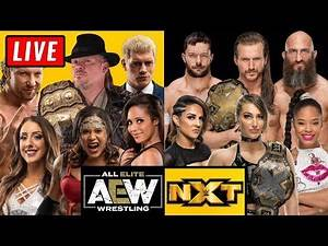 🔴 AEW Dynamite Live Stream & WWE NXT Live Stream February 19th 2020 - Full Show live reaction