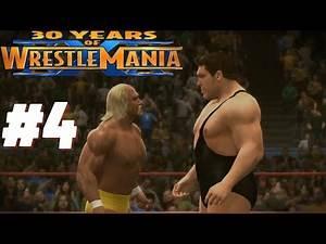WWE 2K14 - Match #4 - Hulk Hogan vs Andre the Giant [30 Years of Wrestlemania] (1080p)