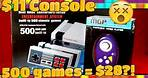 Reviewing two of the cheapest Video game consoles from Amazon