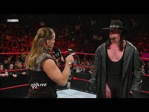 Undertaker and Shawn Michaels talk about their match at