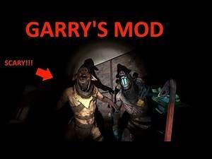 Garry's Mod: CREEPY MONSTERS IN DARK MAZE!