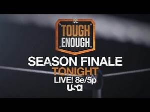 Who will earn a WWE contract on tonight's Tough Enough finale?