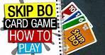 Skip Bo Board Game Rules & Instructions   How To Play Skip-Bo   Skip-Bo Card Game Explained