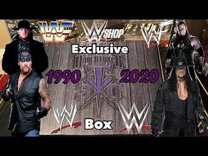 """An Unboxing Video:The WWEShop.com Exclusive Undertaker """"30 Years"""" Limited Edition Collector's Box"""