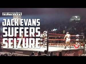 Jack Evans Suffers A Possible Seizure In The Ring During A Show In Mexico (VIDEO)