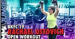 BKFC 19: Rachael Ostovich open workout for Paige VanZant rematch