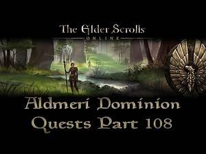 ESO - Aldmeri Dominion Quests - Part 108 - Greenshade Part 23 - The Flooded Grove