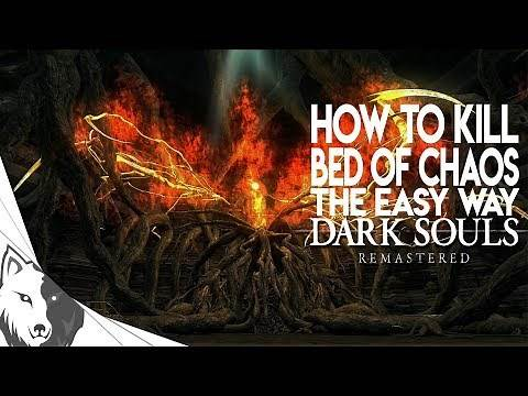 How To Kill Bed of Chaos The Easy Way | Dark Souls Remastered Boss Guide
