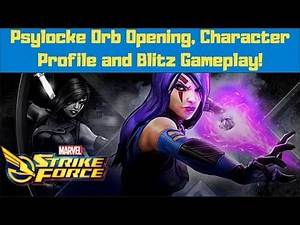 New Character: Psylocke Overview | Marvel Strike Force | MSF