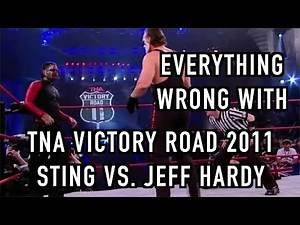 Episode #245: Everything Wrong With TNA Victory Road 2011: Sting Vs. Jeff Hardy