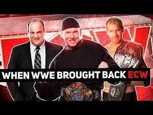 The Failed Relaunch of ECW: The Story of WWECW(2006-2010)