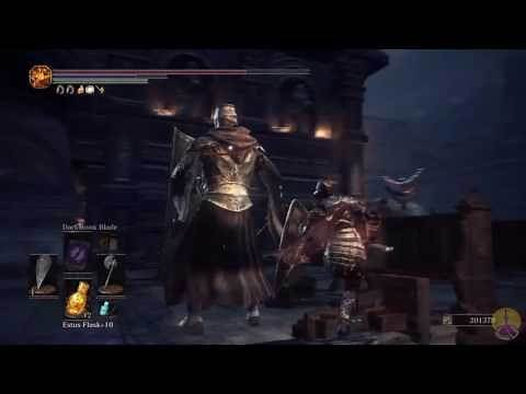 Dark Souls 3 DLC Millwood Battle Axe review/showcase